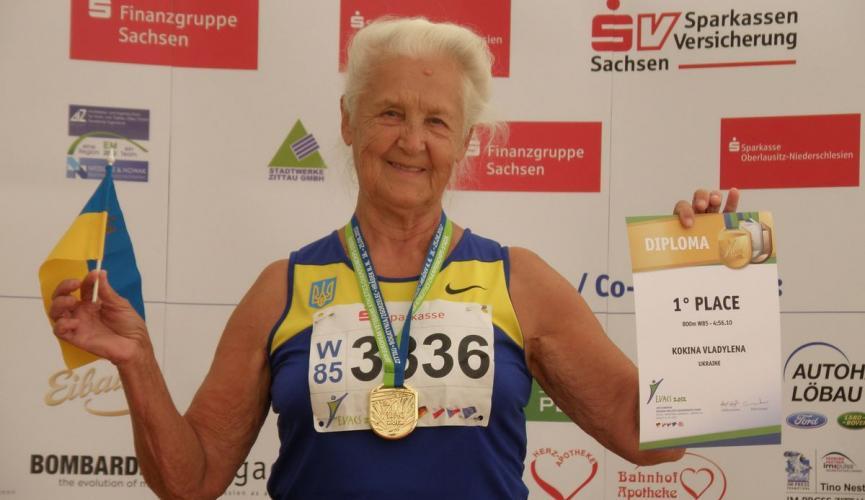 90-летняя украинка установила рекорд  страны в беге на 10 километров