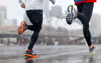 How to run in the rain?