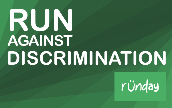 Run against discrimination!
