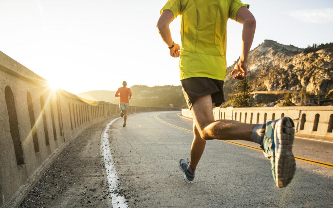 П'ятихвилинка про біг