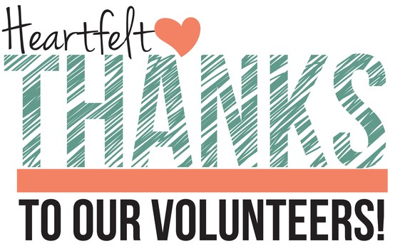 Volunteers, we love you