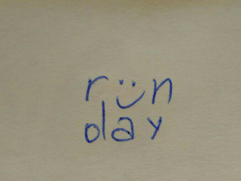 A short history of the runday logo. Part 1.