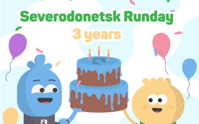Severodonetsk 3 years birthday
